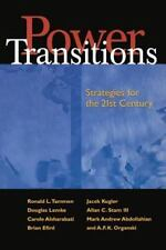 Power Transitions: Strategies for the 21st Century, Ronald L. Tammen, Mark Abdol