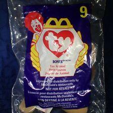New listing Bones The Dog #9 McDonald's Ty Teenie Beanie Baby Retired 1998 New #3-3