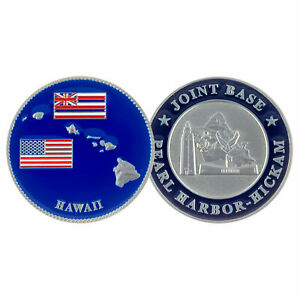 Challenge Coin PEARL HARBOR-HICKAM JOINT BASE CHALLENGE COIN