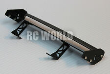 RC 1/10 Car Accessories -METAL Double WING SPOILER  For DRIFT Touring Cars 185mm