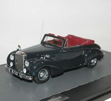 MATRIX SCALE MODELS, 1952 blindées ta21 Drophead coupé (DHC) Tickford, bleu, 1/43