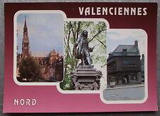 Carte postale VALENCIENNES Saint Cordon Statue Watteau Maison espagnole postcard