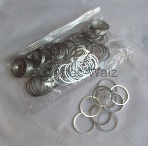 50 STÜCK Aluminiumringe Alu Dichtringe Dichtung AL 45x52x2,0mm DIN 7603 Form A