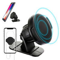 Adjustable Universal 360° Magnetic Car Mount Cell Phone Holder Stand Dashboard