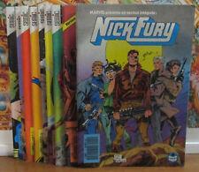 NICK FURY  / Série Complète / 1 à 9 / Comics / Semic / TBE