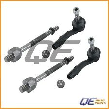 Set of 2 BMW E60 525 528 530 535 545 M5 Steering Tie Rod Assembly Ocap