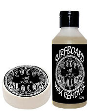 Coco Loco Surfboard Wax Remover Surf Board Cleaner 250ml and cool surf wax