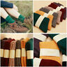 5 Pack Womens Wool Cashmere Casual Thick Winter Multicolor Solid Warm Socks