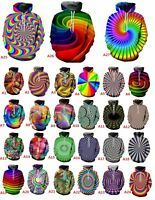 Hypnotism Colourful 3D Print Women/Men's Hoodie Sweatshirt Pullover tops Jumper