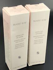 Mary Kay Satin Lips LIP MASK #235100 NEW IN BOX Lot Of 2 (.3 Oz Each)