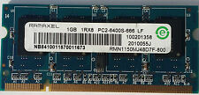 Ramaxel 1GB PC2-6400S  RMN1150MJ48D7F-800 DDR2 Laptop RAM