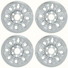 "Chrome Wheel Skins / Hubcaps 17"" Compatible with GMC Sierra / Chevy Silverado"