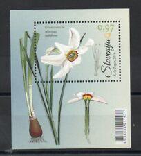 SLOVENIA 2016 FLORA SPRING FLOWERS MINISHEET SG,MS1234 U/MINT LOT 4924B