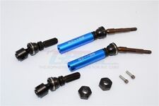 GPM Racing Traxxas Slash 4x4 Blue Metal Rear CVD Driveshaft Set SSLA1277RH-B