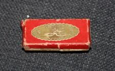 Tiny Antique Miniature Harmonica Works! Century Boxed Doll Accessory!