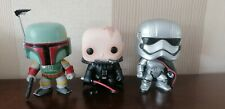 3 Star Wars Funko Pops