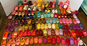 """Lot of 18"""" Doll Single Shoes NO PAIRS Battat Our Generation 135 Single Shoes"""