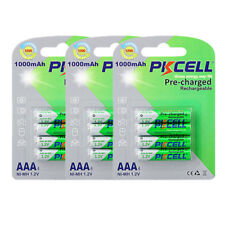 16pcs x AAA 1.2V 1000mAh NiMh Pre-charged Rechargeable Batteries For Solar Light