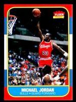 "MICHAEL JORDAN FLEER #4 DECADE OF EXCELLENCE"" 1986-96 ROOKIE CARD!"