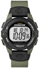 Men's Green Timex Expedition Digital Chronograph Watch T49993