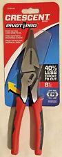 """Crescent CCA6548 8"""" Pivot Pro Long Nose Electrician Pliers"""