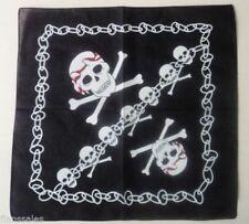 Bufandas y pañuelos de mujer de color principal negro de algodón