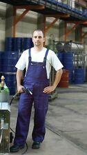 Arbeitslatzhose Malerhose Latzhose Werkstatt Hose Arbeitshose blau Gr. 52 (440)
