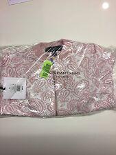 Victoria Beckham for Target - Blush Floral Jacquard Bomber Jacket - Size XS