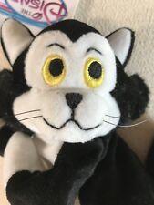"""RETIRED The Disney Store Mini Bean Bag FIGARO 8"""" Pinocchio  Beanie Plush Toy NWT"""