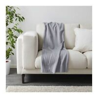 IKEA VITMOSSA Sofa Couch Lounge Knee Fleece Throw Rug Blanket 120x160 cm in Grey