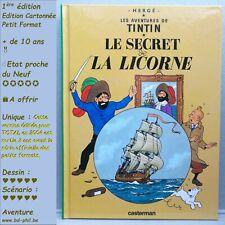 Tintin, 10, Secret de la Licorne, Hergé, Casterman, Petit format, EO, 2004, EN C