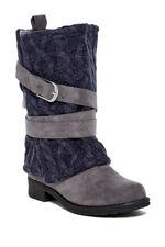 Muk Luks Bessie Women's Boots: Size:8 Color: Gray    J5