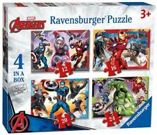 Ravensburger 06942 Marvel Avengers 4 in a Box 12/16/20 & 24 Piece Jigsaw Puzzle
