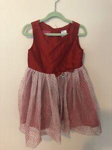 Girls Size 3 Red Barbie Tule Dress