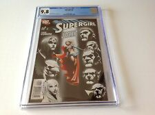 SUPERGIRL 4 CGC 9.8 WHITE PAGES LEX LUTHOR JLA APP COOL COVER DC COMICS