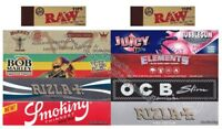 KING SIZE ROLLING PAPERS VARIETY PACK AND RAW TIPS GIFT MULTI SET Rizla Raw OCB