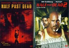 HALF PAST DEAD 1 & 2: Steven Seagal + Bill Goldberg - NEW 2 DVD