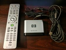 HP Windows Media Center Remote With USB Receiver and IR Blaster