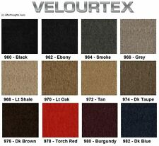 Lloyd Mats Velourtex Plain 2 Piece Front Floor Mats (1941 & Up)