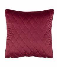 New Rose tree pillow sham Euro Izabelle red wine velvet