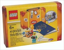 New LEGO 5004932 Travel Building Suitcase Kit Set Minifigure Sealed Accessory