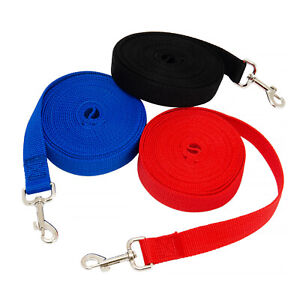 Pet Dog Training Lead Strong Quality Rope Leash Control Leash Recall Walking