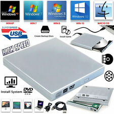Laptop USB To SATA DVD CD Combo RW Rom External Drive Case Cover Caddy Enclosure