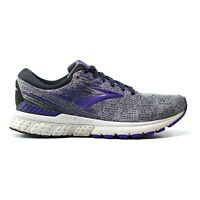 Brooks Adrenaline GTS 19 Women's Size 9.5 B Gray Purple Running Athletic Shoes