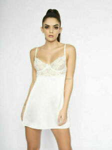 Ann Summers The Enticing Babydoll Ivory -  Large 16/18