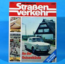 Der Deutsche Straßenverkehr 8/1987 Ribnitz-Damgarten Velorex 700 Bautzen M12