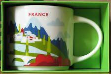 Starbucks You Are Here YAH City Mug Frankreich France, 14 oz neu mit SKU, HTF
