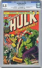 1974 Incredible Hulk 181 CGC 5.5 1st Wolverine