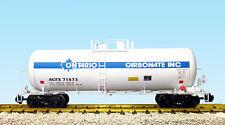 USA Trains G Scale 42 Foot Modern Tank Car R15263 Ontario - White, Blue Stripe