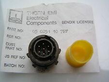 Thorn EMI Conector 05 0251 10 7PF, 7 Gold Pin enchufe.